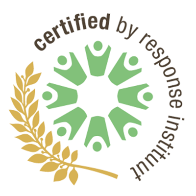 Logo certified by response instituut